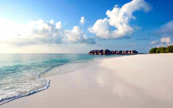 мальдив, море, побережье