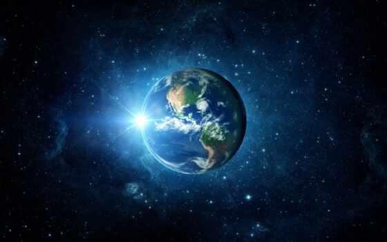 earth, galaxy, planet, свет, картинка, солнечный, репродукция, system, путь, фотообои, млечный