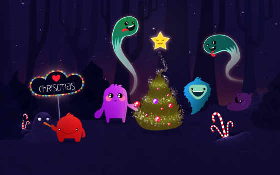 desktop, free, background, christmas, fotos, characters, animated, navidad, merry, powerpoint, template, weihnachten, personajes,