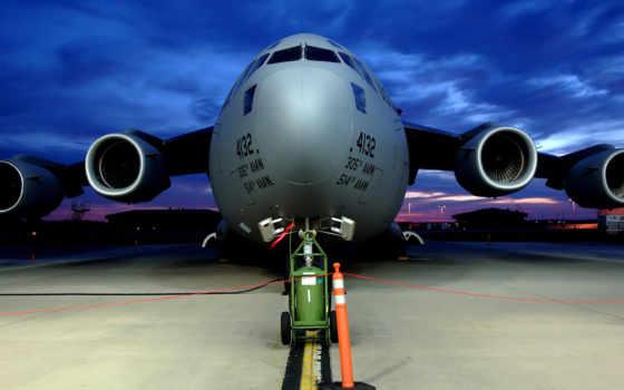 самолёт, взлетная