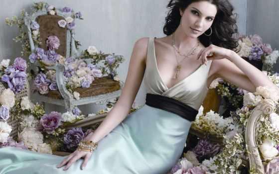 цветами, красивые, женщинам