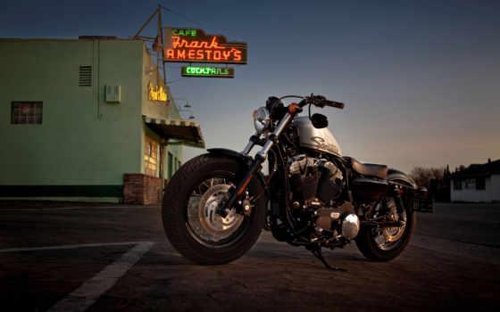 harley, davidson, мотоциклы, восемь, forty, мотоцикл, sportster, xl, девушка,