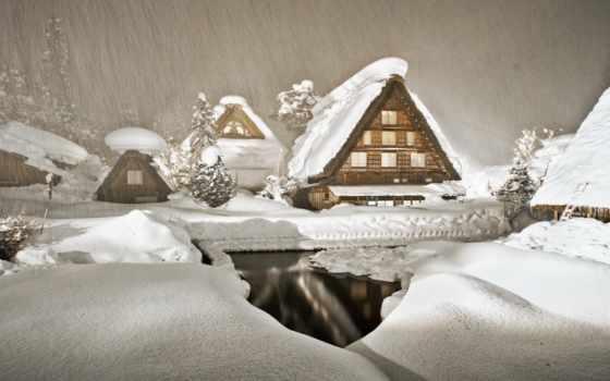 пейзажи -, fone, community, winter, прочитать, зимние, япония, rafael, прозрачном,