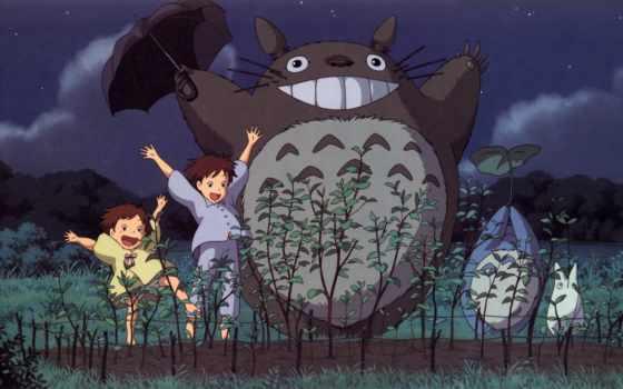 тоторо, сосед, anime
