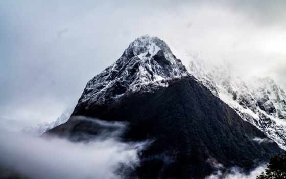 free, new, фото, zealand, гора,