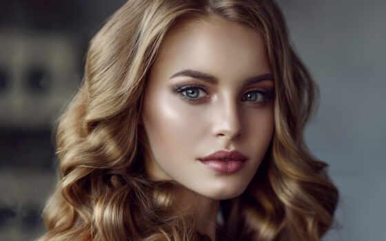 девушка, волосы, мужчина, семья, лицо, блонд, boy, blonde, dark, грудь, увеличить