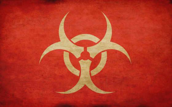 biohazard, знак