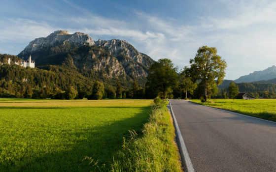 дорога, горы Фон № 31614 разрешение 1920x1080
