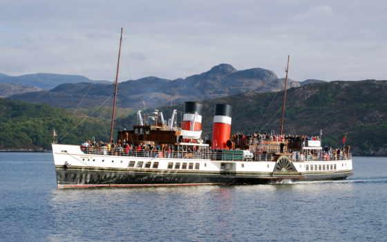 waverley, steamer, paddle