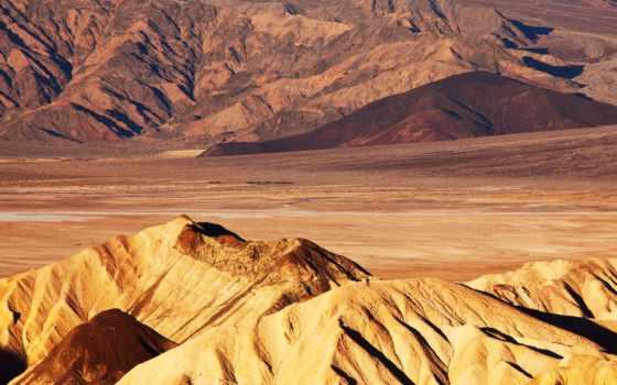 горы, песок