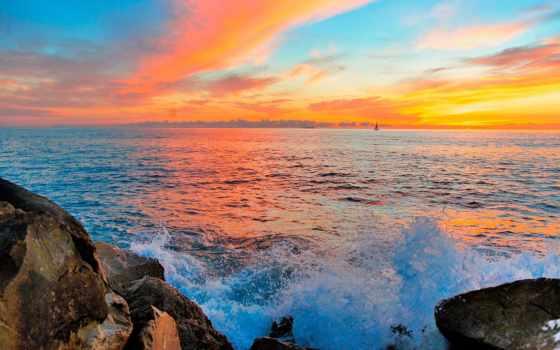 изображение, природа, озеро, небо, desktop, тематика, free, горизонт, фото,