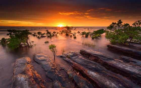 закат, австралия, другой, совершенн, миро, природа, strong, sale, land