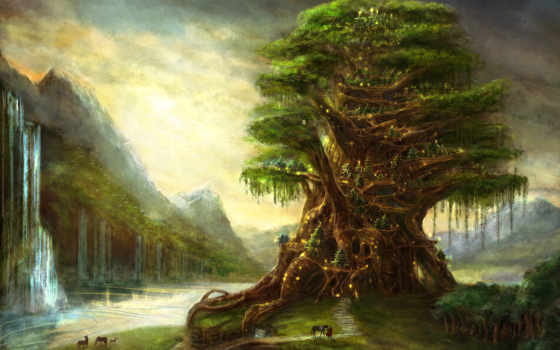 фэнтези, дерево