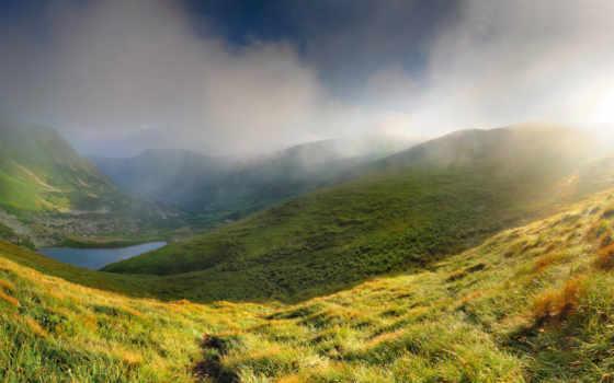 mountains, природа, widescreen