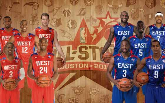 nba, all, star, starters,