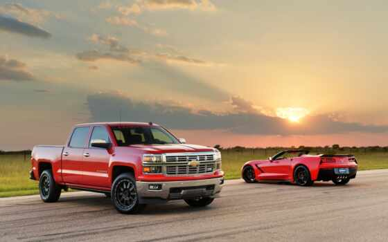 hennessey, corvette, stingray, silverado, supercharged, hpe, chevrolet,