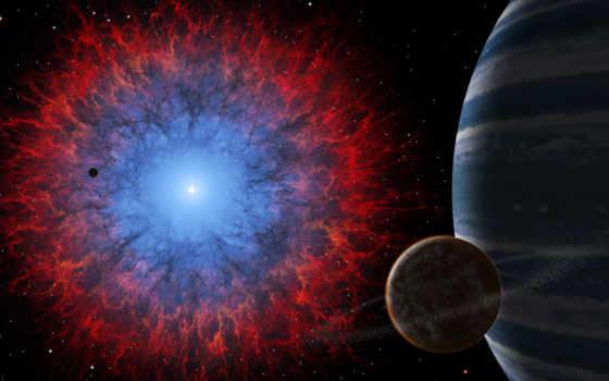natural, satélite, planetas, nebulosa, fondos, космос, взгляд, espacio, pantalla,