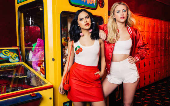 riverdale, betty, veronica, лили, reinhart, camila, mendes, bernice, images,