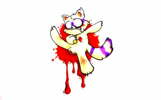 cat, кровь
