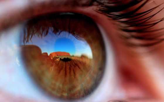 ,глаз,ресницы,отражение,зрачек