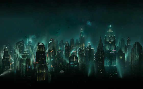 bioshock, rapture, город, картинка,