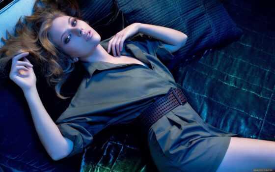 скарлетт, йоханссон, кровать, random, johansson, девушка