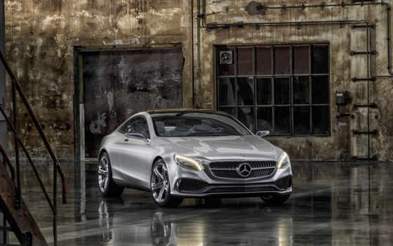 mercedes, benz, coupe