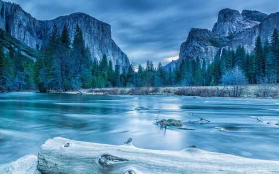 yosemite, national, park, горы, landscape, nevada, sierra,