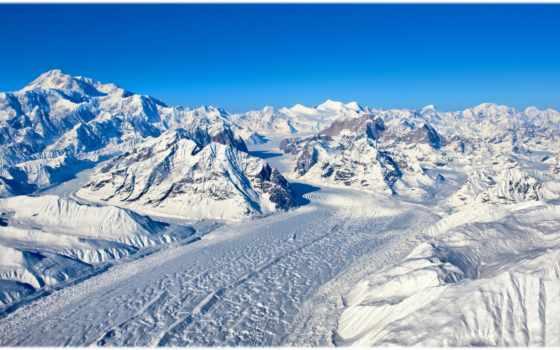 гималаи, гора, himalaya, небо, снег, mountains,