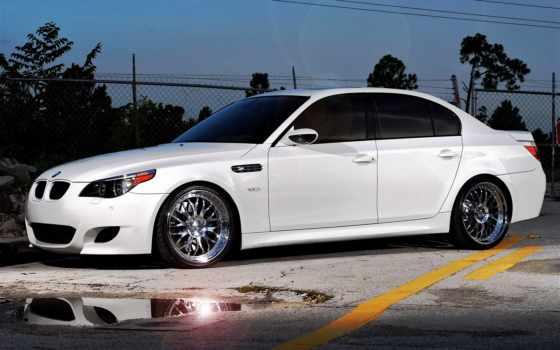 bmw, white, сбоку, автомобили, авто, взгляд, тонированный, ala, съемная,