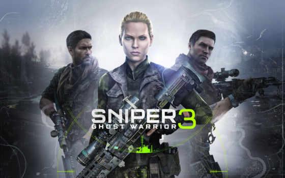 снайпер, воин, ghost, games,