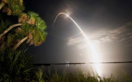 интересно, nasa, иллюзия, ракета, озеро, fact, фото