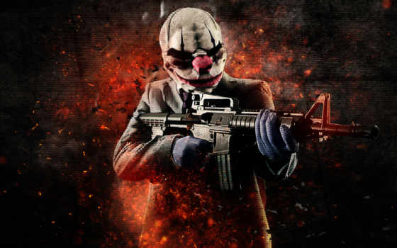 payday, янв, heist, маски,