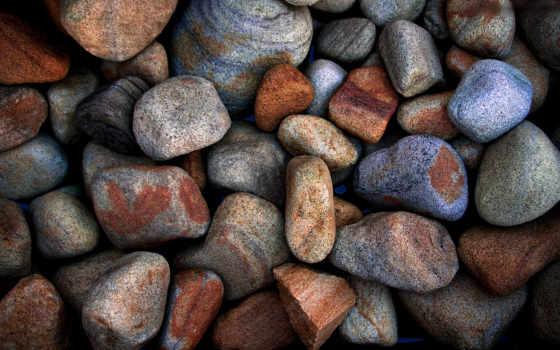 красивые, full, макро, галька, камни, камешки, камень,