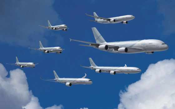 airbus, acj, семья, полет, corporate, formation,