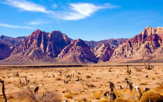 nevada, пустыня, горы