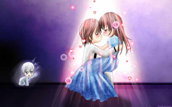 anime, art, девушка, her, vampire, views,