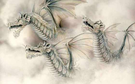драконы, dragons, дракон, подробнее, фото, три, часть, десвинг,
