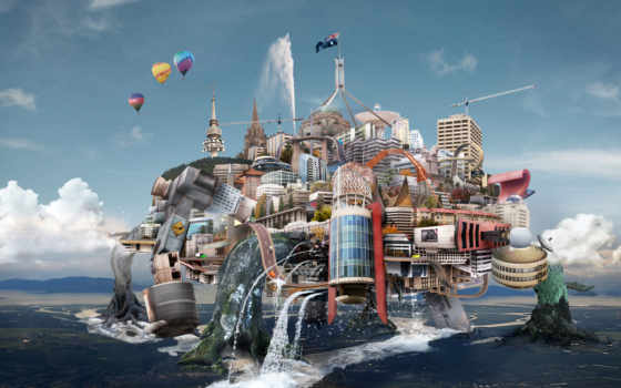 fantasy, графика, прикольные, art, фантасмогория, трансформеры, городов, зарегистрироват,