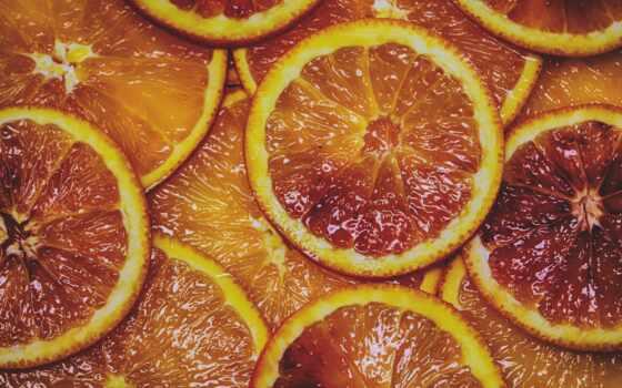 оранжевый, апельсин,, дольки,, цитрус,