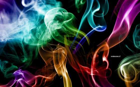 дым, multicolored,