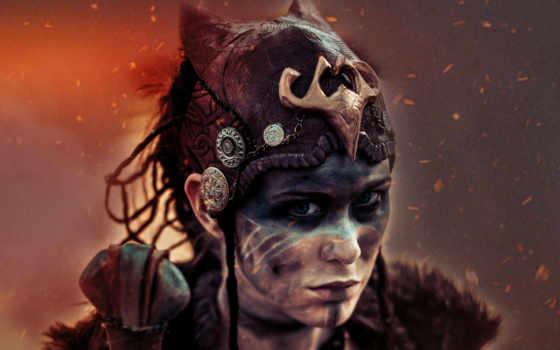 senua, hellblade, sacrifice Фон № 126453 разрешение 3840x2160