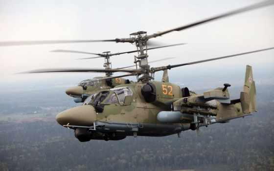 аллигатор, Ка-52, вертолет