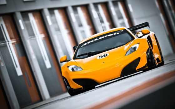 mclaren, racing, car