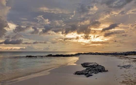 пляж, вечер, море, white, песок, time, страница, берег, природа, photography,