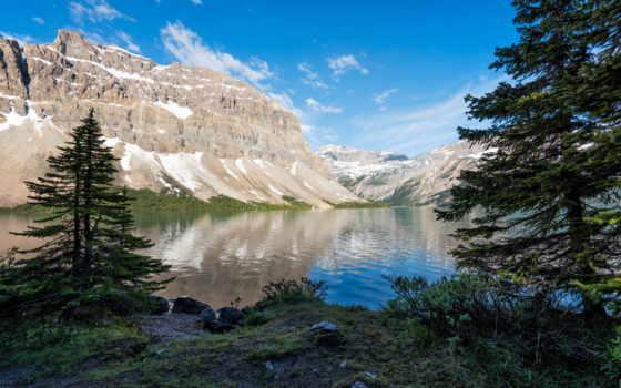 озеро, канада, горы, canadá, природа, fondos, озера, канадский,