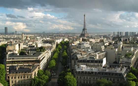 париж, франция, башня Фон № 80069 разрешение 1920x1200