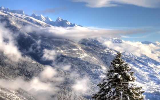 full, desktop, winter, you, hard, горы, тупым, природа, зимние,