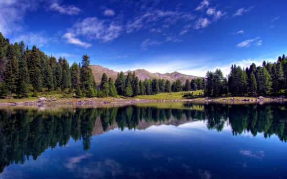 озера, лесного, красавица, лесные, сети, густой, among, бесчисленных, речных, потоков, бороздящих,