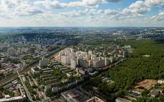 москва, free, pictures, панорама, москвы, огромная, desktop, телебашни, stock,